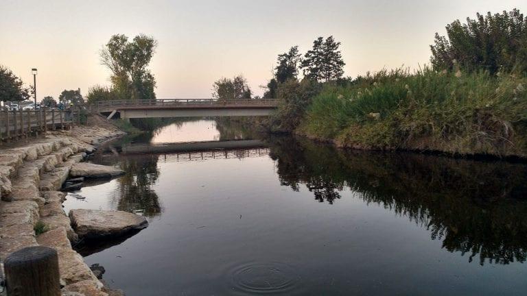 נחל אלכסנדר וגשר הצבים