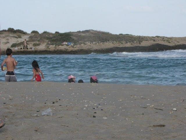 קמפינג על שפת הים
