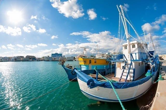 נמל בקפריסין
