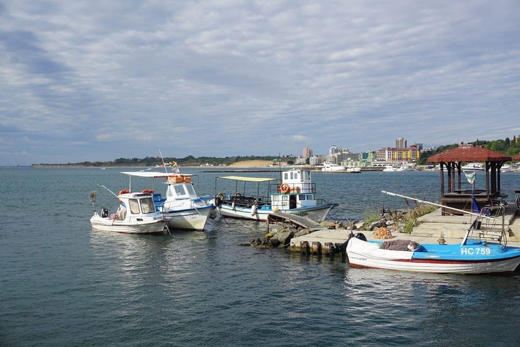 הנמל בבורגאס -בולגריה