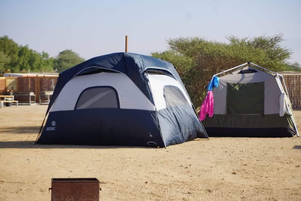 חווית קמפינג בישראל