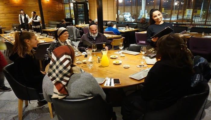 מסעדת בשרים מסעדת מסובין