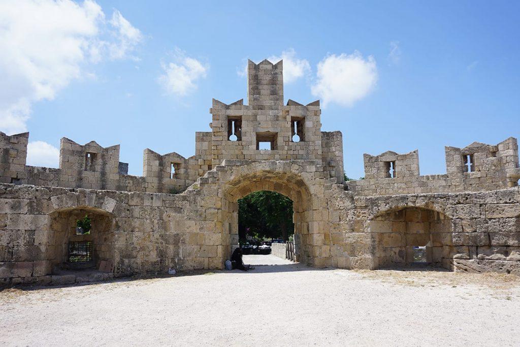 שער העיר העתיקה ברודוס