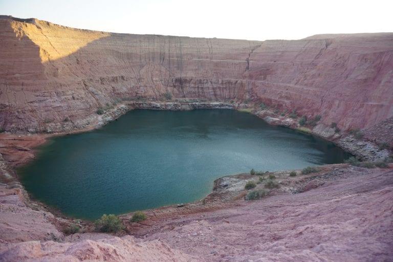 האגם הנעלם בתמנע