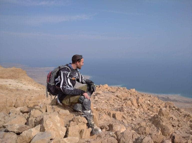 טיול אופנועים במדבר יהודה