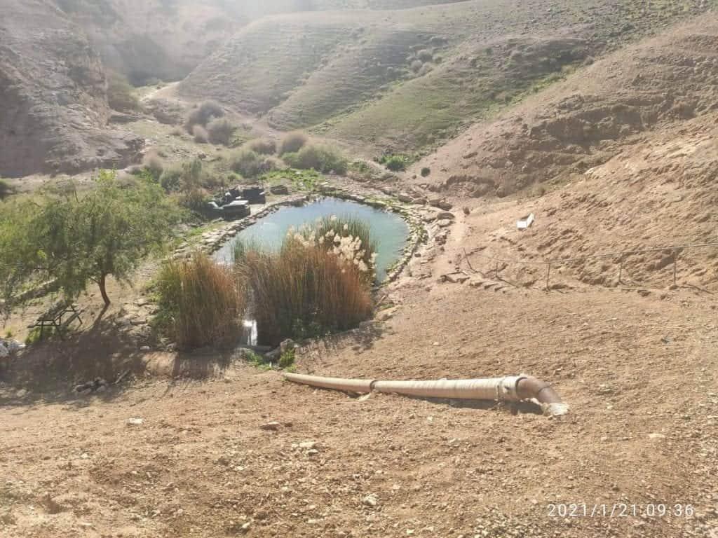 מעיין שלום במדבר יהודה