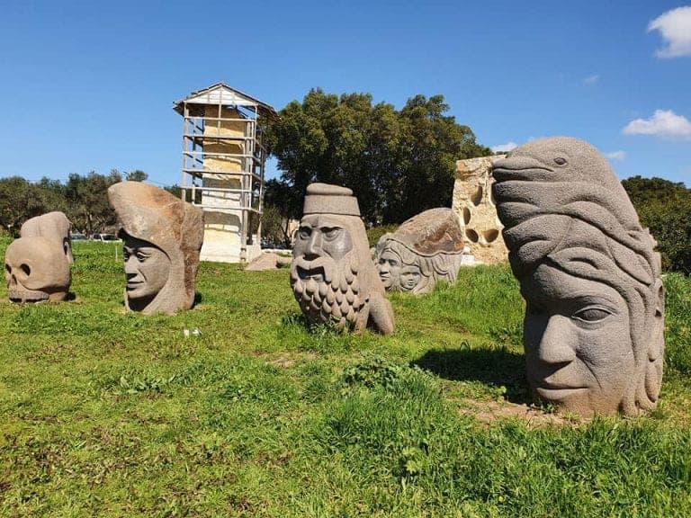 גן הפסלים בעין כרמל